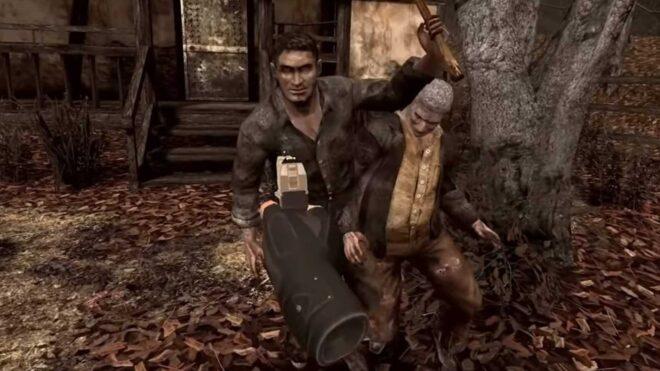 De la VR pour Resident Evil 4.