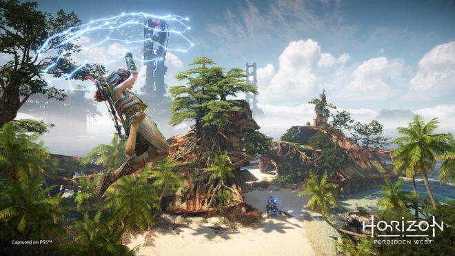 Guerrilla Games dévoile une première séquence de gameplay pour Horizon : Forbidden West.