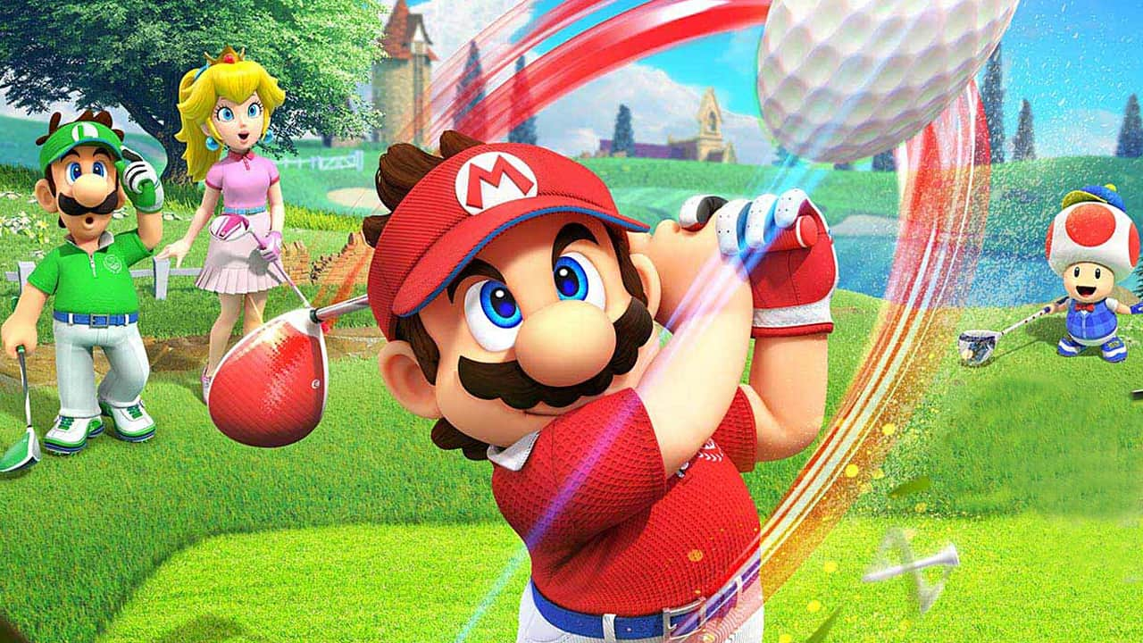 Mario Golf: Super Rush reveals its playable characters and video game modes