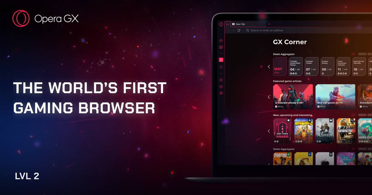 The browser dedicated to gaming: Opera GX arrives on mobile