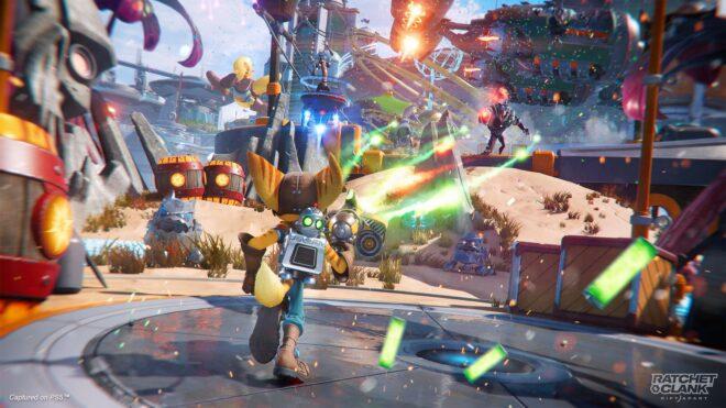 Quelques-uns des gadgets et armes de Ratchet & Clank : Rift Apart se dévoilent en vidéo.
