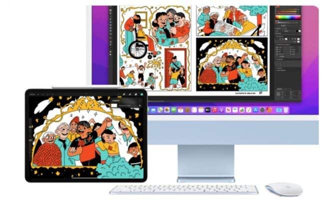 Apple macOS Monterey contrôle universel