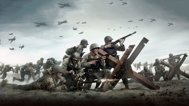 Pas d'E3 2021 pour Call of Duty : WWII Vanguard.