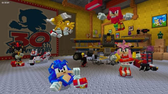 Minecraft x Sonic