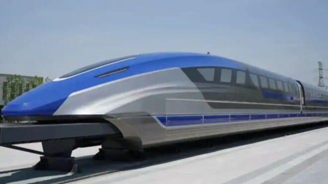 Chine train maglev