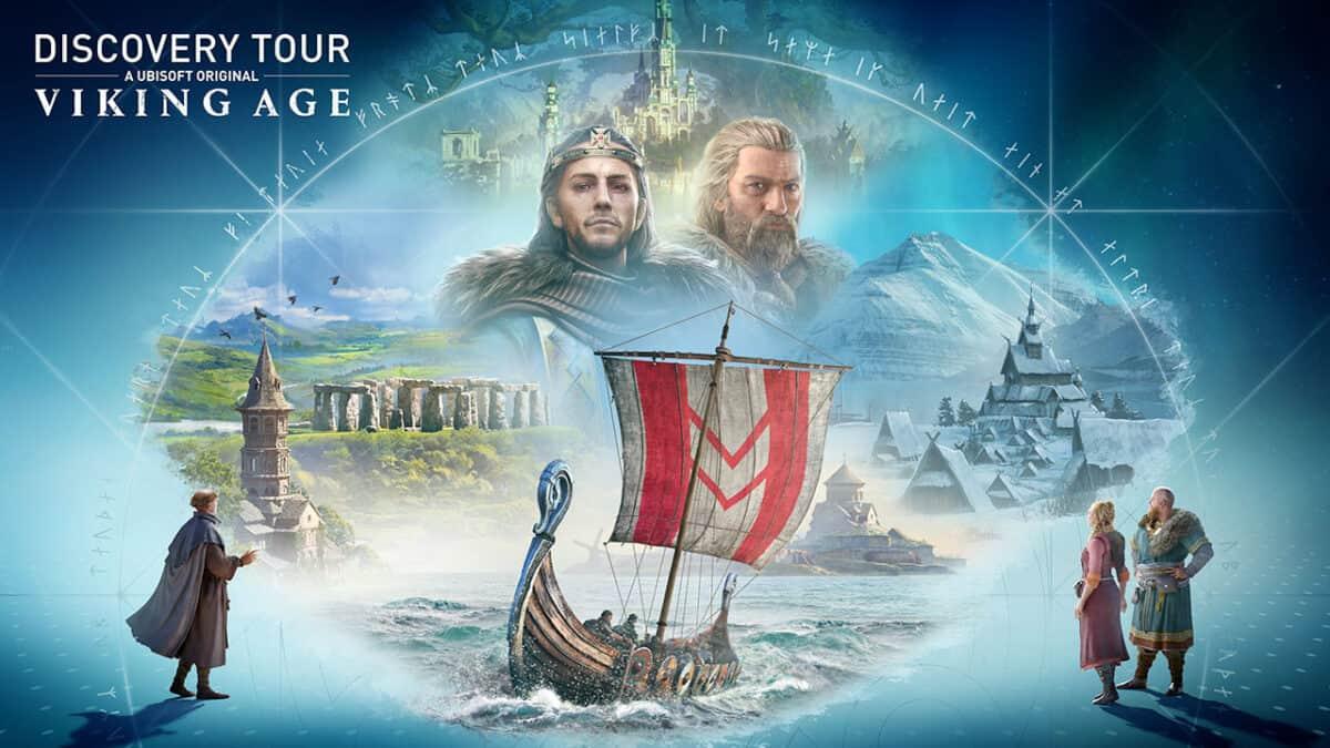 Discovery Tour : Viking Age, une version standalone pour le mode éducatif d'Assassin's Creed Valhalla