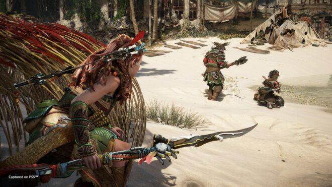 La mise à niveau PS4 à PS5 de Horizon : Forbidden West est offerte pour tout le monde.