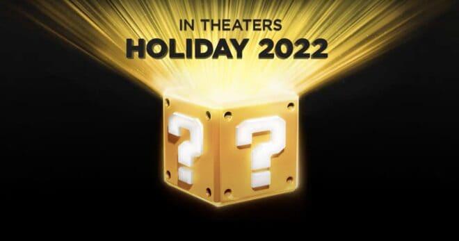 Le film d'animation Super Mario Bros est confirmé pour 2022.