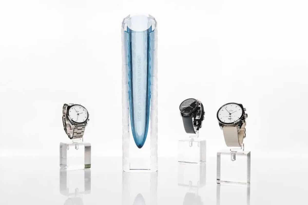 Leitners Ad Maiora, une smartwatch hybride du plus bel effet